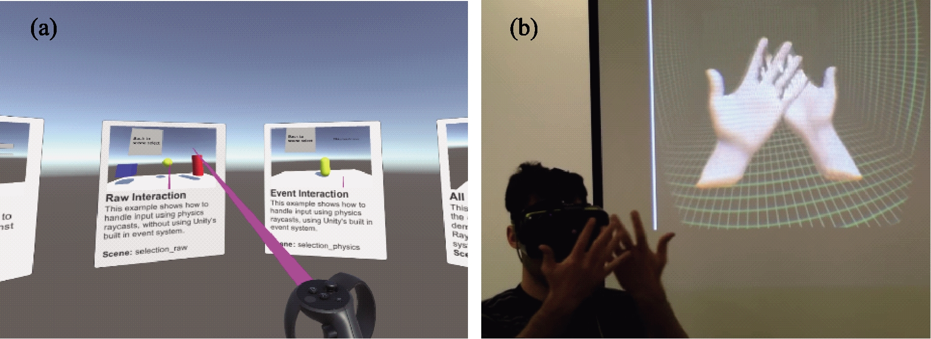 Review of studies on target acquisition in virtual reality